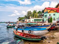 Phu Quoc, Vietnam (Kevin R Thornton) Tags: phuquoc galaxys8 landscape asia travel people mobile boat anthoi vietnam samsung transport thànhphốphúquốc tỉnhkiêngiang vn