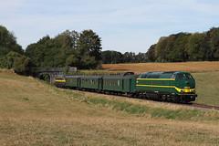 TUCRail 5528 @ Sovet (Peter Van Gestel) Tags: tuc rail nmbs sncb reeks serie 55 lijn ligne 128 tsp pft bocq sovet pont brug