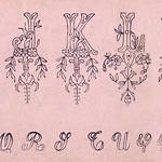 Embroidery samples, plate number 14 by Jose Guadalupe Posada (1852-1913). Original from Library of Congress. Digitally enhanced by rawpixel. thumbnail
