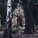 Mausoleum in the woods