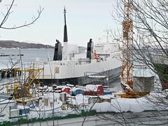 """Stetind"" (OlafHorsevik) Tags: stetind ferge ferga ferry ferja ferje hurtigruten harstad hamek"
