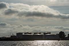 Oil Architecture (Marilely) Tags: oil architecture architektur industrie öl amsterdam ijmuiden niederlande netherlands ij fluss river water wasser