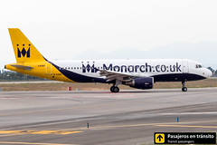 Airbus A320 Monarch G-OZBX (Ana & Juan) Tags: airplane airplanes aircraft airport aviation aviones aviación airbus a320 monarch monarchairlines taxiing alicante alc leal spotting spotters spotter planes canon closeup iialcspotterday