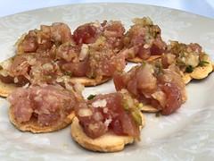 Tartar de bonito de Burela (Recetas de rechupete) Tags: bonito de burela tartar recetas pescado