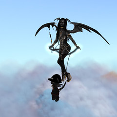 _Dance in the Clouds_ (Prismatic Kitten) Tags: secondlife:parcel=mystwood secondlife:region=quietriot mystwood events dinkies tiny tinies