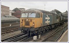 Friday 10th October 1986 Newcastle 56125 (Steve75C) Tags: 1986 newcastle 56125 train railway