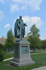 Philadelphia, PA - Fairmount Park East - Major General Peter Muhlenberg (1) (jrozwado) Tags: northamerica usa pennsylvania philadelphia fairmountpark park statue majorgeneralpetermühlenberg