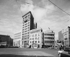Portage & Main, 1957 (vintage.winnipeg) Tags: winnipeg manitoba canada vintage history historic portageavenue