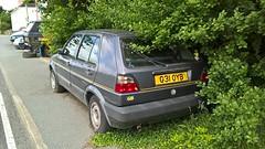 Volkswagen Golf 1.8 GL (Andrew 2.8i) Tags: vw german hatch hatchback mark 2 ii mk mk2 car classic carspotting street spot spotting 1800 1800gl gl 18 18gl golf volkswagen