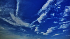 20180624_DP0Q0578 (NAMARA EXPRESS) Tags: landscape nature sky cloud plane airplane jetplane aeroplane 169 daytime summer fine outdoor color blue foveonclassicblue toyonaka osaka japan spp spp653 foveon x3 sigma dp0 quattro wide ultrawide superwide namaraexp