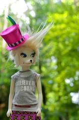 My Little Twiggy (Lawdeda ❤) Tags: vintage 1966 peteena doll wonderland believe unicorns fun picmonkey
