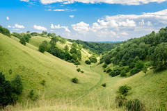 Zagajicka brda / Hills of Zagajica (Nemanja Jovanovic) Tags: nikon srbija serbia zagajica brda hills bluesky clouds outdoor green fields vojvodina
