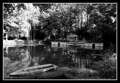 nouvelle disposition (ginetton1) Tags: carpe peche weekend nocturne session installation ponton bateau poisson