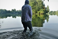 wet shirt (marcostetter) Tags: wetlook wet wetclothes wetclothing fullyclothed landscape nature wetshirt