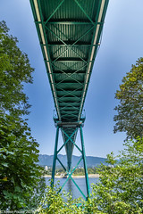 Under the bridge Vancouver.jpg (jamiepacker99) Tags: 2018 whistler bc july canada canoneos6d canonef1635mmf28liiusmlens summer lionsgatebridge bridge stanleypark wideangle