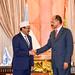 Somalia & Eritrean leaders shaking hands