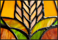 "Stained glass ""lined symmetry""- Macro Mondays (Karon Elliott Edleson) Tags: anythinggoesmondays 7dwf linedsymmetry symmetry macromondays closeup stainedglass lamp canon100mm"