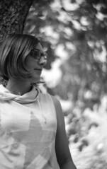 M@jo (Alice_argentique) Tags: filmisnotdead filmisalive filmcamera filmphotography ishootfilm staybrokeshootfilm heylomography blackandwhitephotography nikon nikonf kodak kodakphoto tmax100 xtol lomography petzval newpetzval 85mm portrait bokeh
