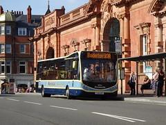 Marshalls OP102 Nottingham (Guy Arab UF) Tags: marshalls op102 yj65ery optare metocity v1152mc bus nottingham station buses