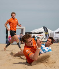 Job Done (Chris Willis 10) Tags: beachrugby sport outdoors beach men people sand caucasianethnicity competition competitivesport males adult fun playing sportsteam summer action athlete youngadult muscularbuild ball rugby championships