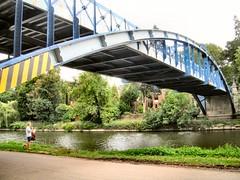 Kingsland Toll Bridge (John McLinden) Tags: shropshire srewsbury severn riversevern water bridge riverbank kingslandtollbridge path