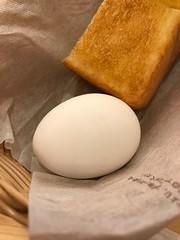 ゆで卵 (96neko) Tags: snapdish iphone 7 food recipe komedascoffeeコメダ珈琲店池袋西武前店