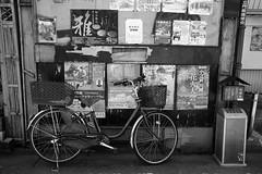 DSCF0140 (Kotaro_Nakagawa) Tags: fujifilm x xe3 xf23mmf2 bike road monochrome silkypix kawagoe