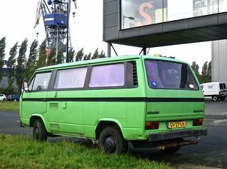 1981 VOLKSWAGEN Transporter T3 Type 253521 Motorhome