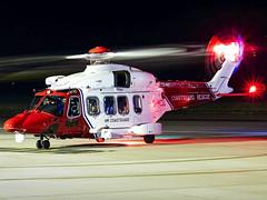 HM Coastguard | AgustaWestland AW189 | G-MCGU (Bradley's Aviation Photography) Tags: egsh nwi norwich norwichairport canon70d gmcgu aw189 agustawestlandaw189 coastguard hmcoastguard