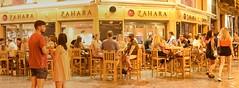 Malaga City Street on a Warm Night (rq uk) Tags: rquk nikon d750 afsnikkor70200mmf28efledvr city highiso late malaga night warm thepanoramafactory stitched panoramic zahara