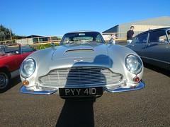 Aston Martin DB6 1966, Classic Car Sunday, Goodwood Breakfast Club (f1jherbert) Tags: lgg6 lgelectronicslgh870 lgelectronics lg g6 lgh870 electronics h870 goodwoodbreakfastclub classic car goodwood breakfast club
