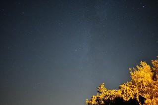 Blue Milky Way
