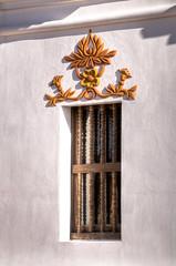 San Xavier del Bac Exterior Detail 3 (William Horton Photography) Tags: arizona sanxavierdelbac spanishcolonial tucson architecture carving church exterior missionchurch statue window