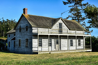 Ferry House circa. 1860, Whidbey Island
