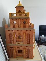 Arabian Modular MOC Side View 1 (Sam M Sheppard) Tags: lego modular moc building arabian middle eastern