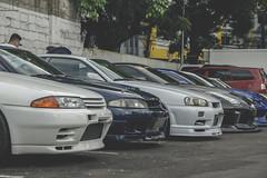 R32-R33-R34-R35 (Justin Young Photography) Tags: cars manila philippines stancepilipinasmanilafitted nissan skyline gtr r32 bnr32 gts25t r33 ecr33 25gtt r34 er34 r35 libertywalk lbperformance