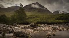 The Bookil (garyquinn17041) Tags: waterfall mountain landscape longexposure scotland glencoe buchaille