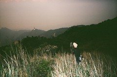 Flying goose mtn. (b o n 3) Tags: hongkong t4 yashica analog photography film 35mm