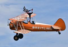 The Flying Circus (nickym6274) Tags: shuttleworthfamilyairshow 2018 shuttleworth oldwarden bedfordshire theflyingcircus wingwalkingteam boeingstearman breitling aeroplane aircraft airshow