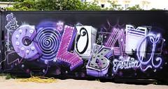 Ouste (Thethe35400) Tags: artderue arteurbano arturbain arturbà arteurbana calle grafit grafite grafiti graffiti graffitis graff mural murales muralisme plantilla pochoir stencil streetart schablone stampino tag urbanart wall