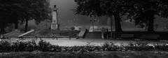 IMG_0362-copy (jorma.) Tags: estonia eesti suvi cinematic atmospheric dreamy tartu udu udune fog foggy misty mustvalge pirogoviplats piro park blackandwhite