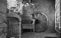 Relax in Panzano (michele.palombi) Tags: montefioralle dettagli film 35mm agfa 400asa tuscany italy greve chianti darkroom