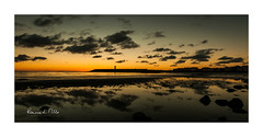 Black Sails...Passing Through (RonnieLMills 5 Million Views. Thank You All :)) Tags: early morning sunrise dawn donaghadee harbour lighthouse black clouds low tide water shore reflections orange glow horizon blacksails passingthrough ronnielmills county down northern ireland