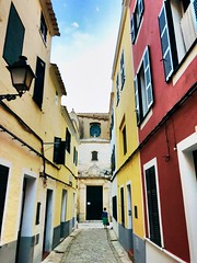 Getting lost . (CamraMan.) Tags: walking holidays narrow streets spain ciutadella
