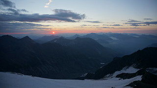 Dawn in the Austrian Alps