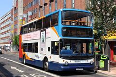 TransBus Trident TransBus ALX400 (DennisDartSLF) Tags: reading bus transbus trident alx400 537 readingbuses wa04csx