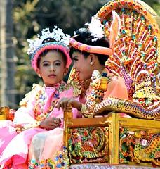 Faces of Burma: 9 (Peter Denton) Tags: burma myanmar child children carnival faces nyaungu street candid ©peterdenton canoneos100d