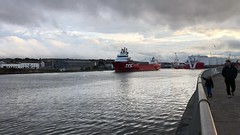 Skandi Rona - Aberdeen Harbour Scotland - 17/8/18 (DanoAberdeen) Tags: dofoffshore doffleet dof mt6000 danoaberdeen 2018 candid amateur aberdeen harbour psv abdn abz grampian uk seafarers maritime docks errv tanker offshore video mpeg 4k iphonevideo clouds water blue sky cloudporn torry footdee fittie ship vessel boat shipspotting geotagged aberdeenscotland scottish northsea northeast seashore coastline skandirona tug tugboat oil oilships oilindustry gb seaport bluesky aberdeenharbour pocraquay northeastscotland northseasupplyvessels northseacargoships supplyships vessels boats scotland danophotography iphone hd 1080p cargoships oilrigs merchantnavy scotch shipspotters