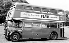 London transport RT44  seen at a rally  1970's. (Ledlon89) Tags: bus buses london transport lt lte londontransport londonbus londonbuses vintagebuses aec