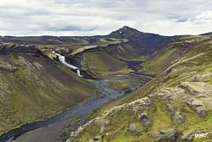 Islande - Eldgja (DKMO Photographie) Tags: dkmo strasbourg alsace laurentfrauli travel islande iceland landscape paysage voyage norðariófæra ófærufoss eldgja waterfall cascade rivière river green